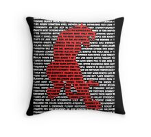 """""""The Year Of The Tiger"""" Cards Throw Pillow"""