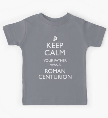 Rory Williams- Roman Centurion Kids Tee