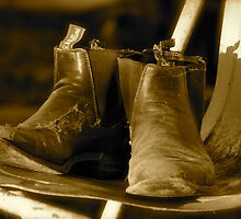 Boots, dust and cobwebs by Anthea Bennett