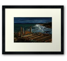 knights stairs Framed Print