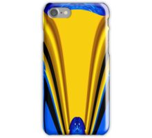 blue-eyed yellow fox iPhone Case/Skin