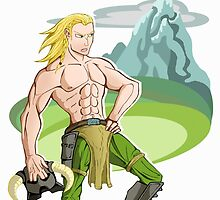 Skyrim cartoon nord by 9999DamagePoint