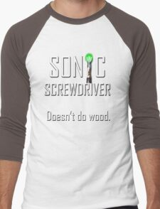 Sonic Screwdriver Men's Baseball ¾ T-Shirt