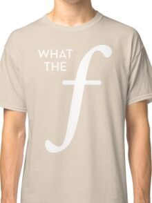 What the aperture Classic T-Shirt