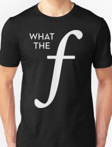 What the aperture Unisex T-Shirt