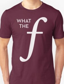 What the aperture Unisex T-Shirt
