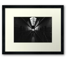 Apparitions of a Haunted Place Framed Print