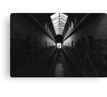 Apparitions of a Haunted Place Canvas Print