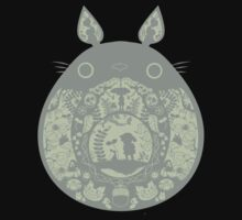 Inside Totoro One Piece - Short Sleeve