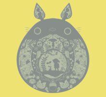 Inside Totoro Kids Tee