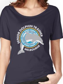 Dolphin Trainer Women's Relaxed Fit T-Shirt