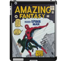 Spiderman comic book cover- acrylic painting iPad Case/Skin