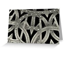 Grate Design Greeting Card