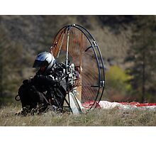 Paramotor Pre-flight Check List Photographic Print