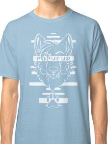 POPUFUR -white text- Classic T-Shirt
