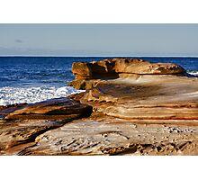 Unusual Rocks Photographic Print