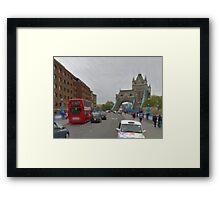 LONDON_View 021 Framed Print