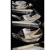 The good cutlery Photographic Print