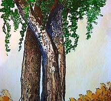 Willowy Tree by Debbie  Adams