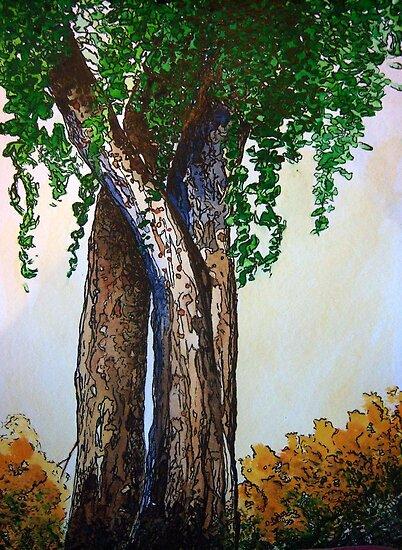 Willowy Tree by Mitch Adams