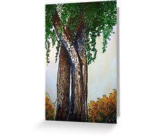 Willowy Tree Greeting Card
