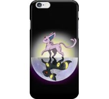 Umbreon & Espeon, Night and Day iPhone Case/Skin