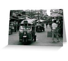 Khao San Road, Bangkok, Thailand Greeting Card
