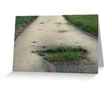 The Road Of Hope Greeting Card