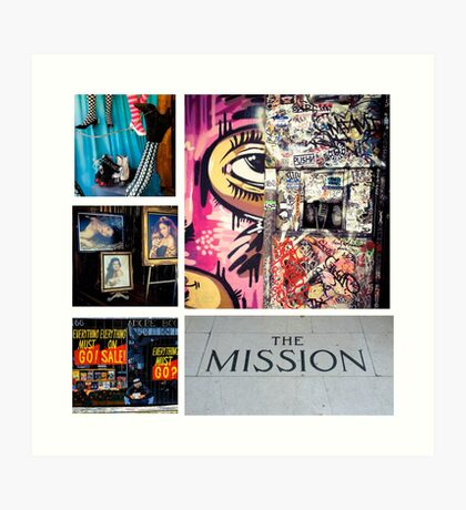 The Mission Art Print