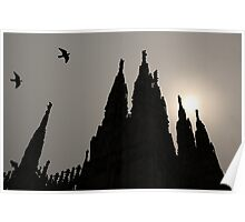 'Duomo Spires' Poster