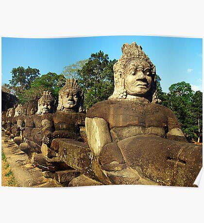 Guarding the River - Cambodia Poster