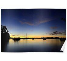 Noosaville Sunset Poster