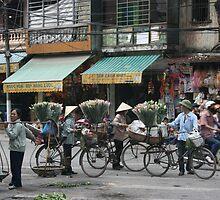 Bicycles - Hanoi, Vietnam | richardkeating.co by Richard Keating