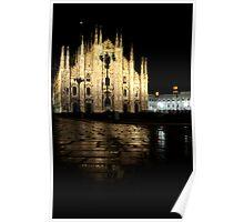 'Duomo Illuminated' Poster