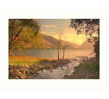 Buttermere Lake, Cumbria, UK, Art Print