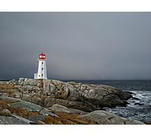 Peggy's Cove Lighthouse Nova Scotia Canada Photographic Print