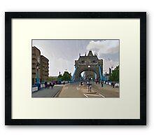 LONDON_View 022 Framed Print