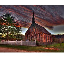 Glory to the Sun- Hill End Photographic Print