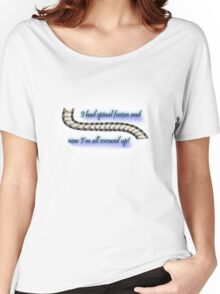 I'm all screwed up! Women's Relaxed Fit T-Shirt