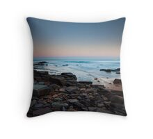 Newport Rocks Throw Pillow