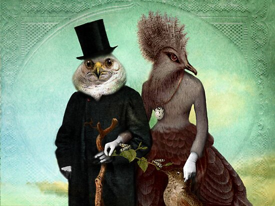 Mr. and Mrs. Schnabel by Catrin Welz-Stein