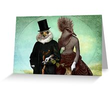 Mr. and Mrs. Schnabel Greeting Card