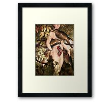 Red fruits Framed Print