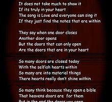 Doors by DreamCatcher/ Kyrah Barbette L Hale