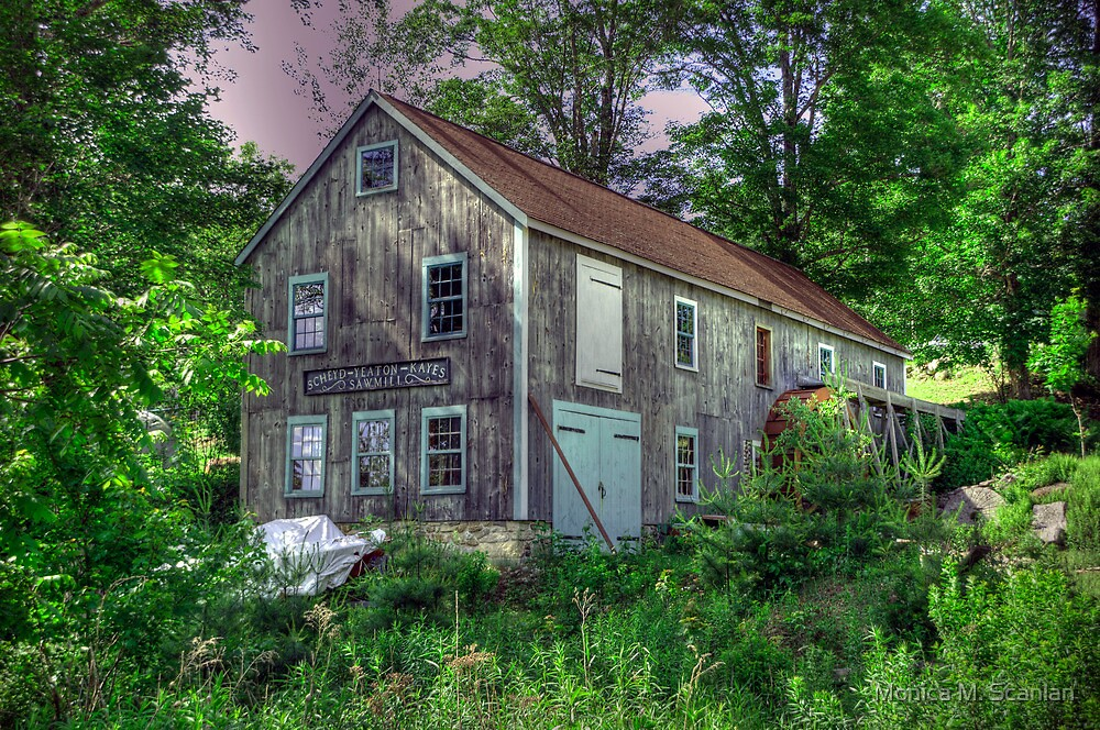 Scheyd~Yeaton~Kayes Sawmill by Monica M. Scanlan