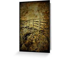 Bridges Past Greeting Card
