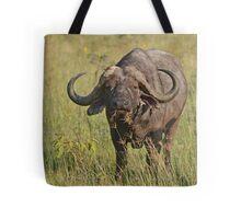Kenya Cape Buffalo Tote Bag