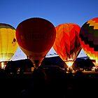 Hot Air Balloon Illuminations by Edward Fielding