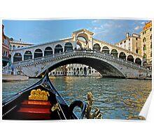 A Venetian Limousine  Poster