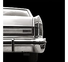 The Back (black&white) Photographic Print
